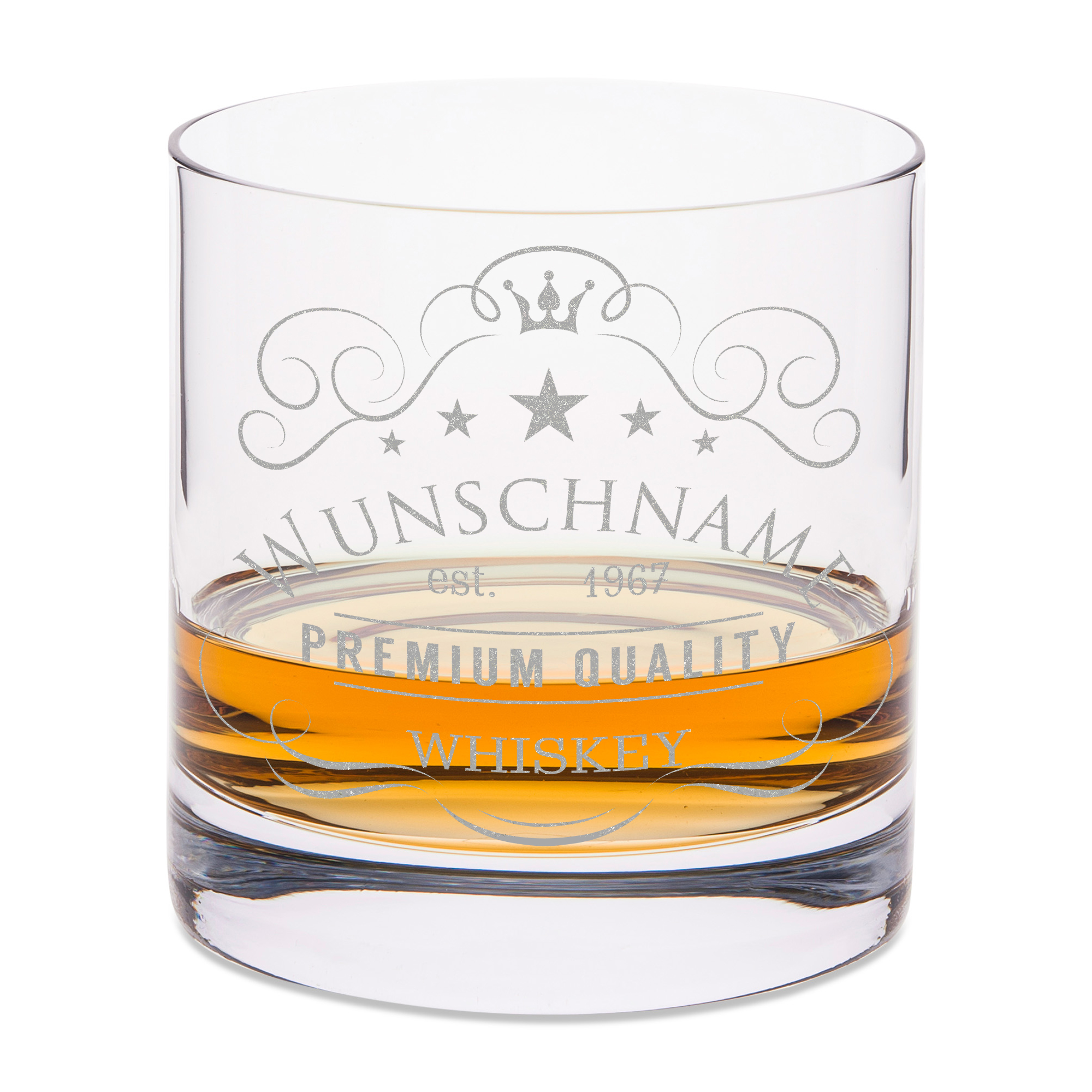 whiskygl ser mit gravur graviertes personalisiertes. Black Bedroom Furniture Sets. Home Design Ideas